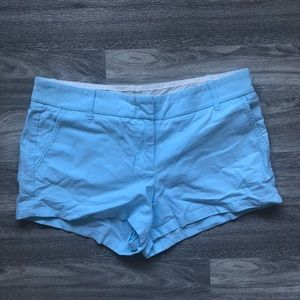 5 for $30 🔑 Jcrew Chino Baby Blue Shorts Size 6